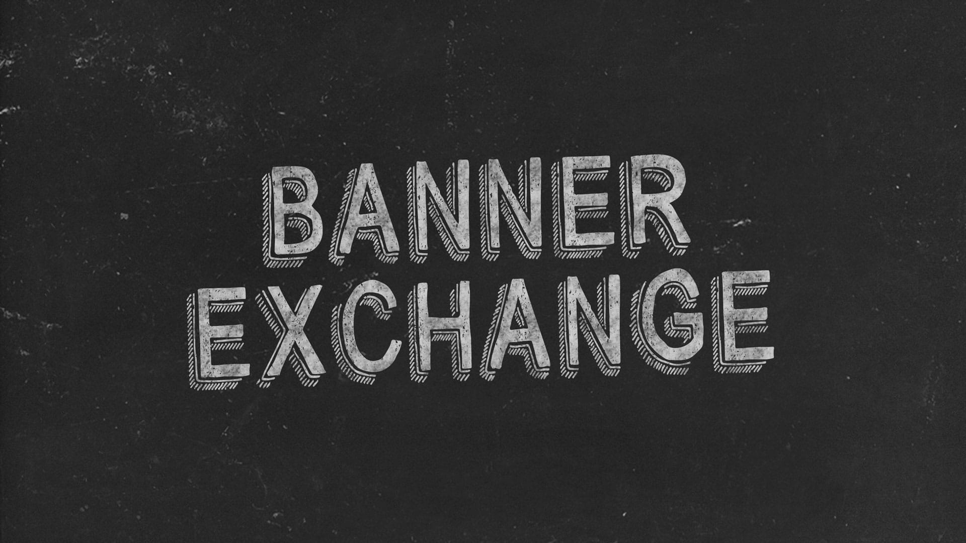 Banner Exchange Black Image