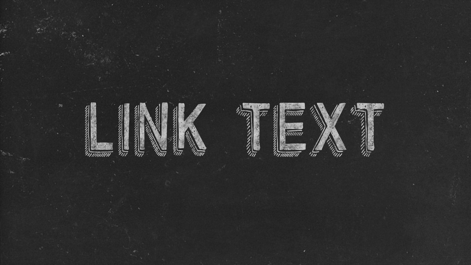 Link Text Black Image