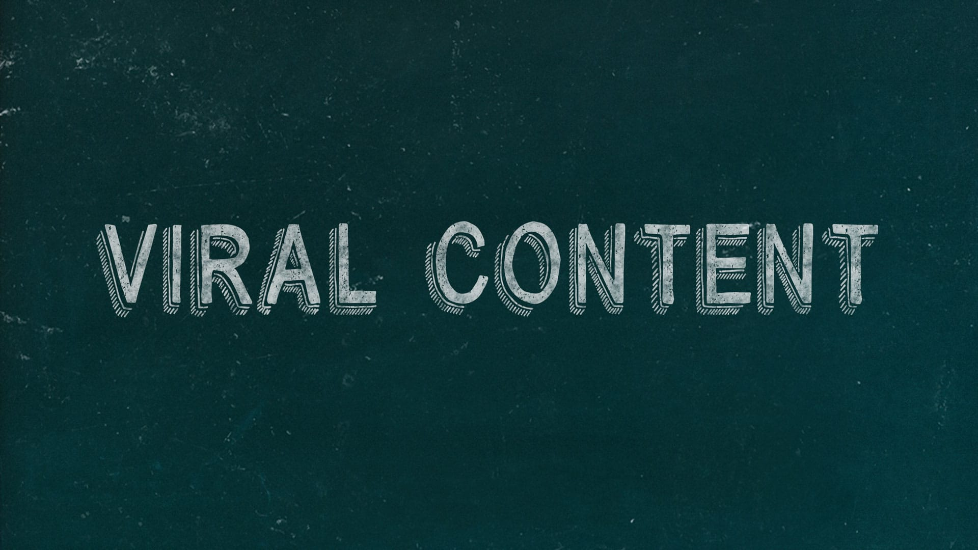 Viral Content Green Image