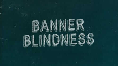 Banner Blindness Green Image