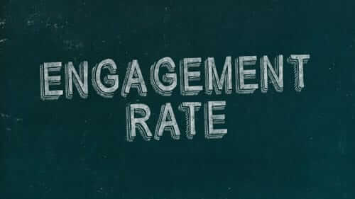 Engagement Rate Green Image