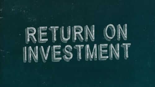 Return on Investment Green Image
