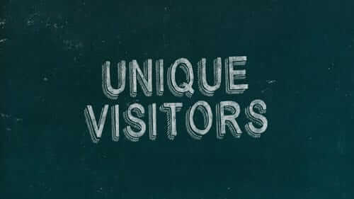 Unique Visitors Green Image