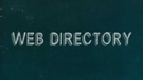 Web Directory Green Image