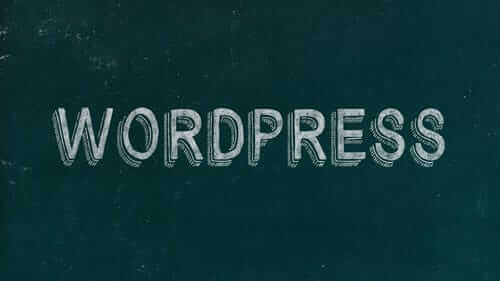 WordPress Green Image
